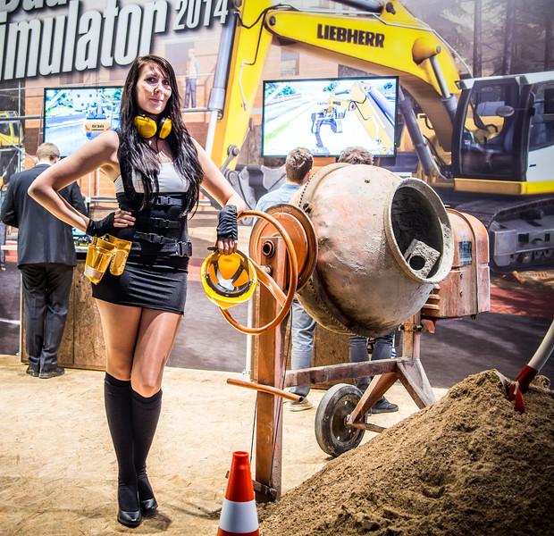 Building simulator at Gamescom 2013