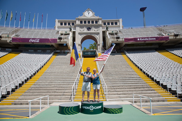 Barcelona olympic stadium, Spain - July, 2016
