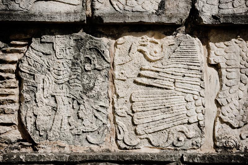 Plataforma de las Águilas y los Jaguares, Chichén Itzá