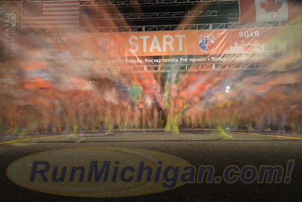 2016 Detroit Free Press Marathon - October 16