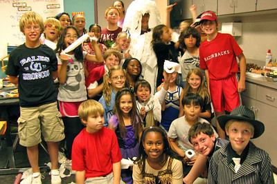 Sharon Dixon's 5th Grade Halloween Party