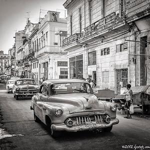 Cuba December 2012 in B&W