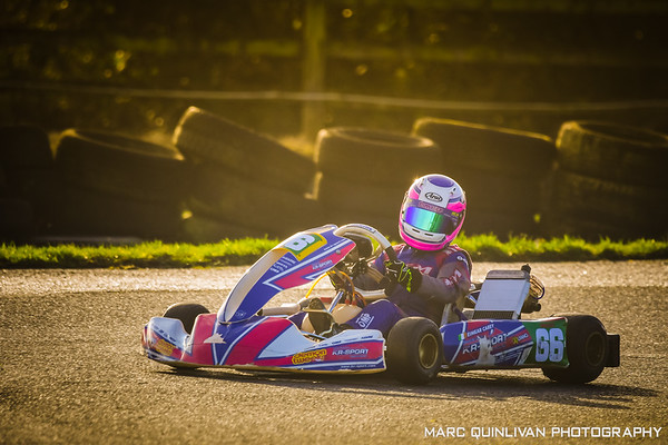 Leinster Karting Club - 2019/20 Winter Championship - Round 4 Test - Éimear Carey