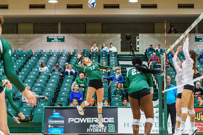 Brown vs Dartmouth Volleyball 2019