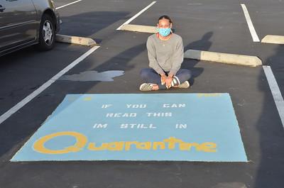 Senior Parking Painting