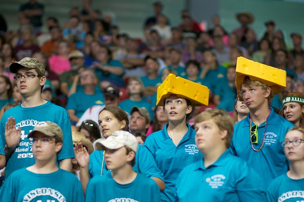 2015 4-H Opening day activities