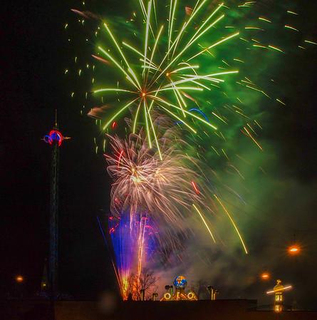 Fireworks in Tivoli