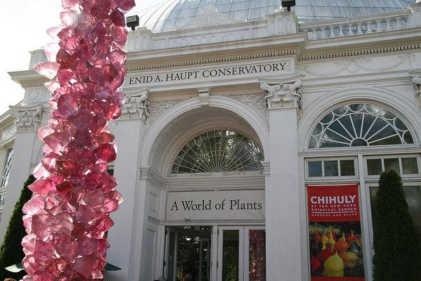 NY Botanical Garden - Chihuly Exhibit