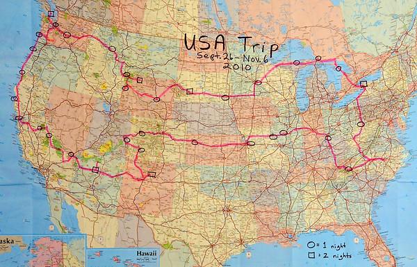 USA Trip - 2010