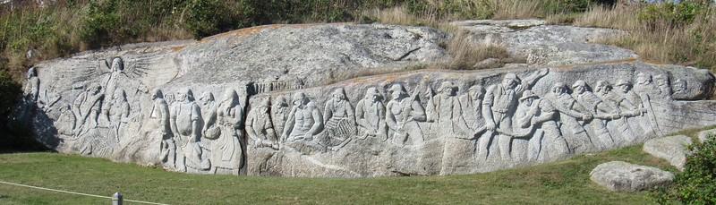 Fishermen's Monument by William E. DeGarthe
