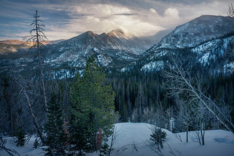 Slumbering Through || Rocky Mountain National Park