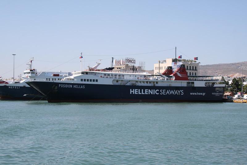 2009 - F/B POSEIDON HELLAS in Piraeus.
