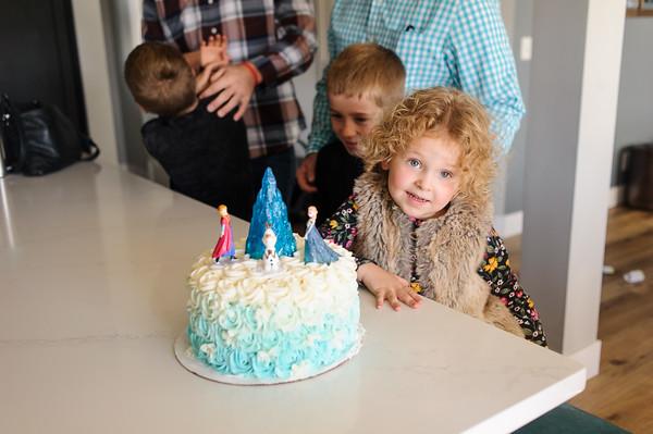 Eleanor's 4th Birthday