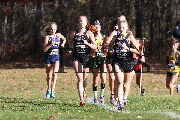 LUHS Cross Country at Sectionals October 26, 2019