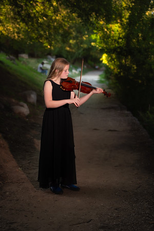 G and Her Violin