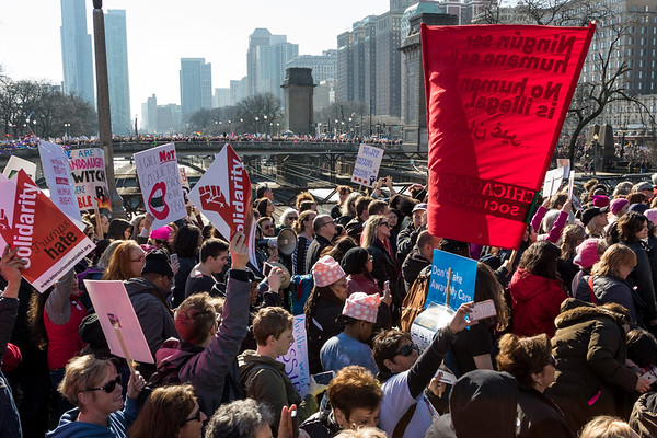 Women's March - Chicago - 1/21/17