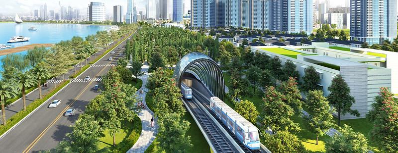 Vinhomes Golden River Metro Line