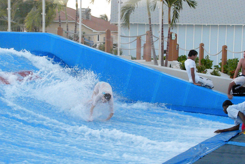 Then lost it completely.  Wipe out!