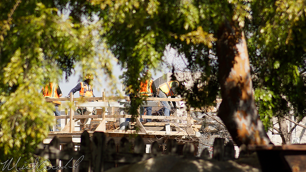 Disneyland Resort, Disneyland, Frontierland, Critter Country, Critter, Country, Rivers Of America, Rivers, River, America, Star Wars Land, Star Wars, Construction