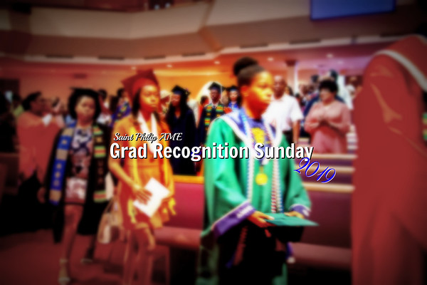 Graduates Recognition Sunday 2019