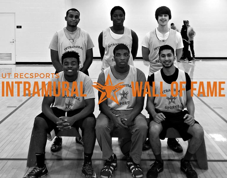 FALL BASKETBALL Men's C Runner Up  The Garbage Men  R1: Vincent Njoku, Daniel Ikejimba, Dhaval Shah R2: Libin Alexander, Corey Kyei, James Stevens