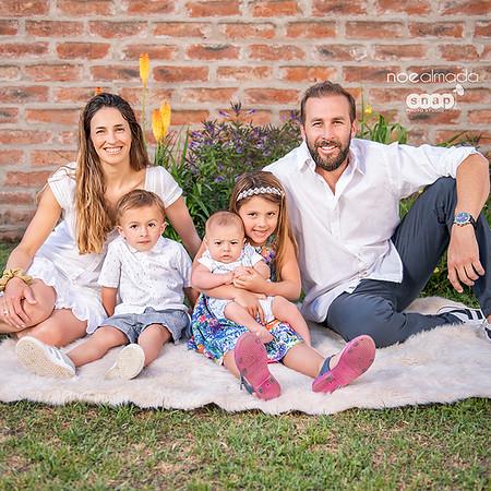 Cecilia & Nacho , sesión de familia