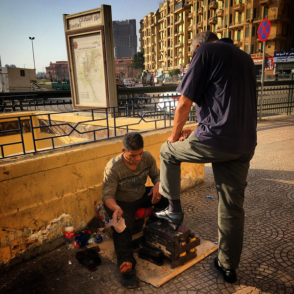 Shoeshiner | 24 Hour Project | Cairo 7th April 2018
