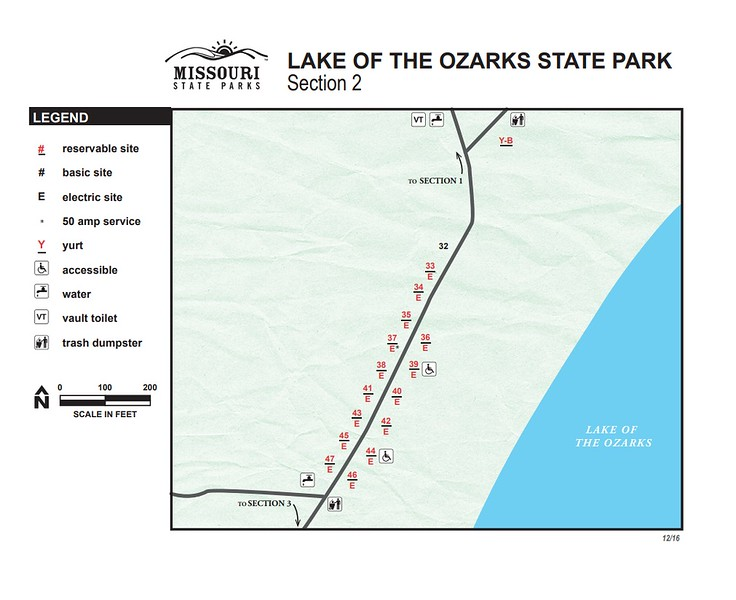 Lake of the Ozarks State Park (Campground Section #2)