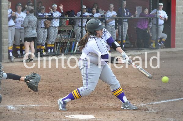 Purdue Calumet at Ashford softball (3-22-16)