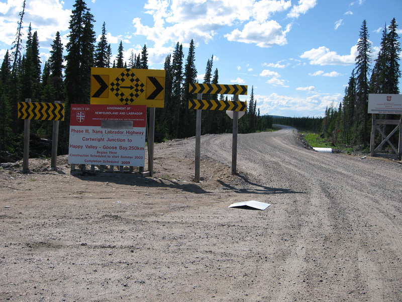 Phase III, Cartwright Junction to Goose Bay is still not completed