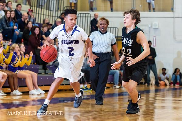 Broughton boys JV basketball vs Enloe. January 4, 2019. 1-4-19 BasketballBV00739