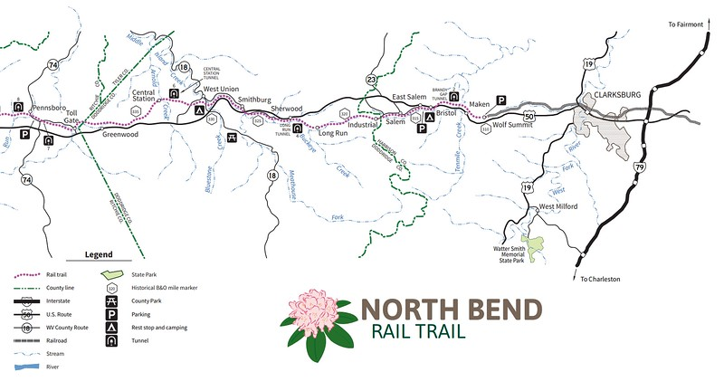 North Bend Rail Trail (Doddridge County Section)