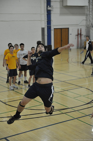 UCDMVB Team II vs SRJC 2/2/13