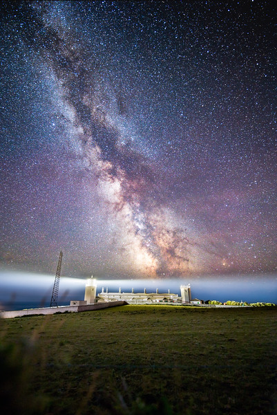 Lizard Point Lighthouse under the Milky Way