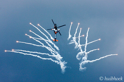 RNLAF AH-64D APACHE SOLO DISPLAY TEAM