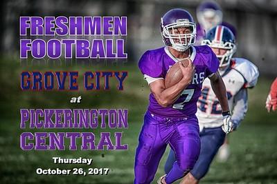 Freshmen 2017 Grove City at Pickerington Central (10-26-17)