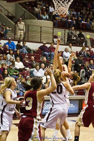 2010-12-02 Lady Griz 50 - Denver 45