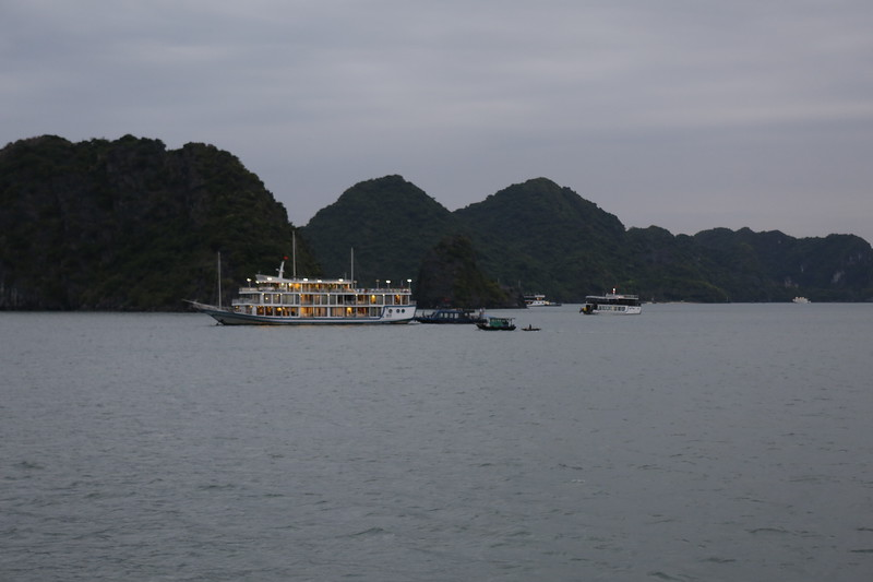Dusk in Haiphong Bay