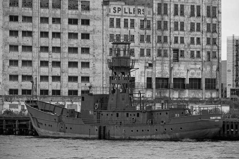 Lightship 93, Royal Victoria Dock