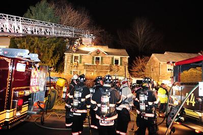 2 Alarm Building Fire, Springfield