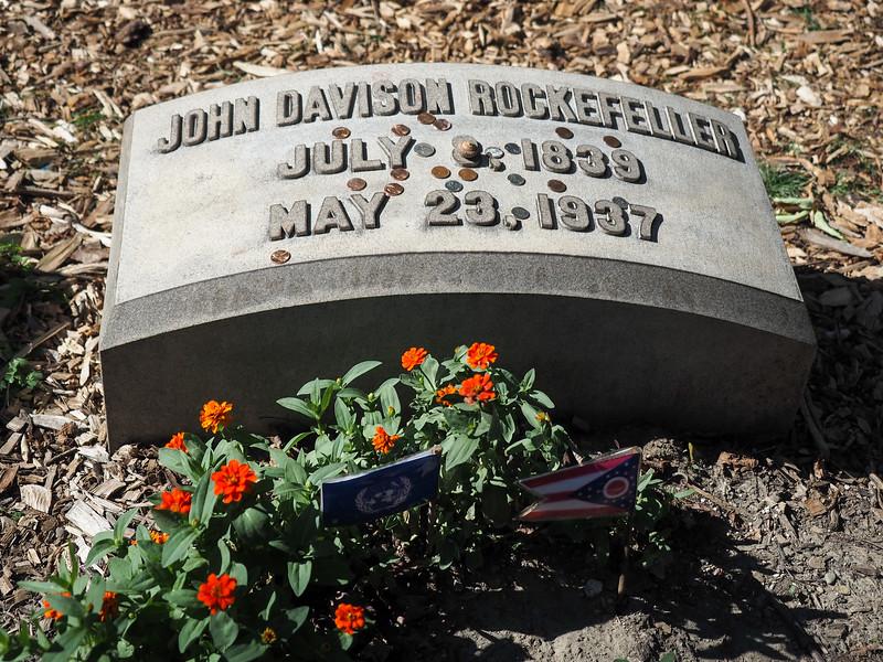Burial of John D. Rockefeller
