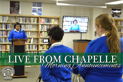 Live From Chapelle - Morning Announcements