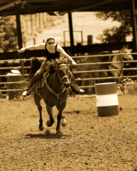 FAST HORSE - Marin Lorne's Rodeo Life DVD