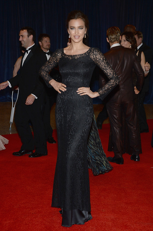. WASHINGTON, DC - APRIL 27:  Irina Shayk attends the White House Correspondents\' Association Dinner at the Washington Hilton on April 27, 2013 in Washington, DC.  (Photo by Dimitrios Kambouris/Getty Images)