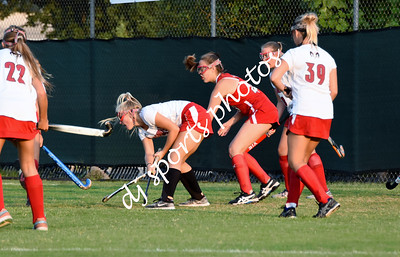 2018-08-13 duPont Manual Girls Field Hockey - JV vs Freshmen Scrimmage