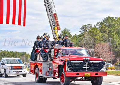 Firefighter Michael Norton
