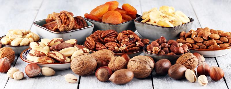 Rhumveld pähklid,puuviljad ja seemned