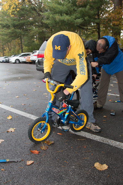 Bikes for the World -- Mitzvah Day at Congregation Beth El, October 29, 2017.