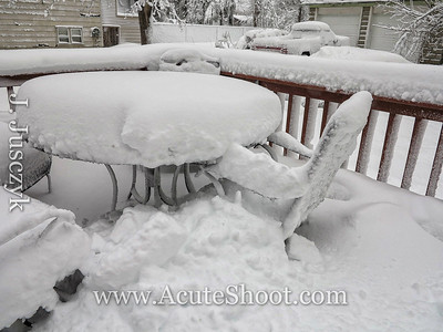 Snowstorm Nemo - Warwick and Cranston, Feb 2013