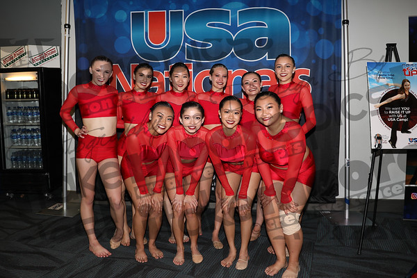 USA Ntls RED dance Anaheim 3.29.18